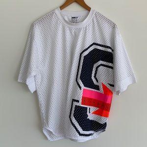 Adidas by Stella McCartney Mesh Tee White SzM